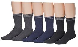 Yacht & Smith Mens Cotton Thermal Boot Socks