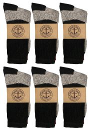 Yacht & Smith Womens Cotton Thermal Crew Socks , Warm Winter Boot Socks 10-13