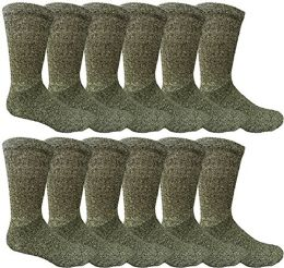 12 Pairs Value Pack Of Wholesale Sock Deals Mens Ringspun Cotton 2tone Twisted Socks, Black