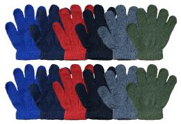 Yacht & Smith Kids Warm Winter Colorful Magic Stretch Gloves Ages 2-5