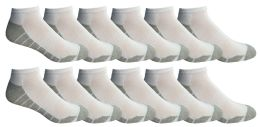 Yacht & Smith Mens Cotton Ankle Socks, Low Cut Athletic Socks