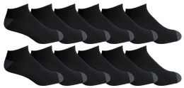 Yacht & Smith Mens Cotton Ankle Socks, Now Show Athletic Socks