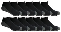 Yacht & Smith Mens Cotton Ankle Socks, No Show Athletic Socks