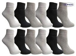 Yacht & Smith Mens & Womens Ankle Wholesale Bulk Pack Athletic Sports Socks, By Socks'nbulk (womens 9-11 (shoe Size 5-10), 12 Pairs Mix)