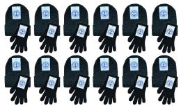 Yacht & Smith Unisex Adult Warm Winter Sets 72 Pairs Of Gloves And 72 Hats