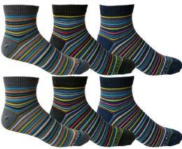 Yacht & Smith Mens Cotton Quarter Ankle Socks,