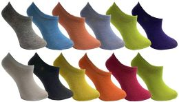 Yacht & Smith Womens Foot Ped Neon Ankle Socks