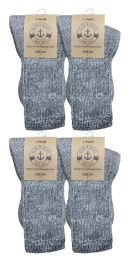 Yacht & Smith Unisex Kids Merino Wool Thermal Hiking Camping Socks , Size 6-8