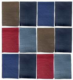 Yacht & Smith Warm Fleece Knit Winter Neck Scarfs, Unisex Assorted Colors
