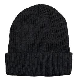 Yacht & Smith Adult Winter Beanie Hat, Cold Weather Unisex Hats, Ribbed With Faux Fur Sherpa Lining