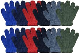 Yacht & Smith Kids Winter Gloves & Mittens in Bulk, Kids Age 3-8