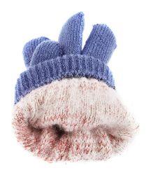 Five Finger Cap Knitted Big Kids' Gloves