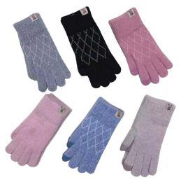 Knitted Women's Gloves