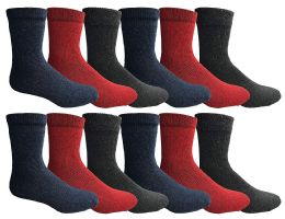 Yacht & Smith Womens Winter Thermal Crew Socks Size 9-11
