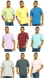 Yacht & Smith Mens Assorted Color Slub T Shirt With Pocket - Size 3xl