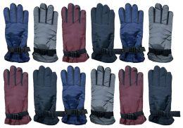 Yacht & Smith Women's Winter Warm Waterproof Ski Gloves, One Size Fits All